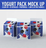 yogurt carton 3d 3ds