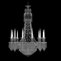 regency style chandelier england max