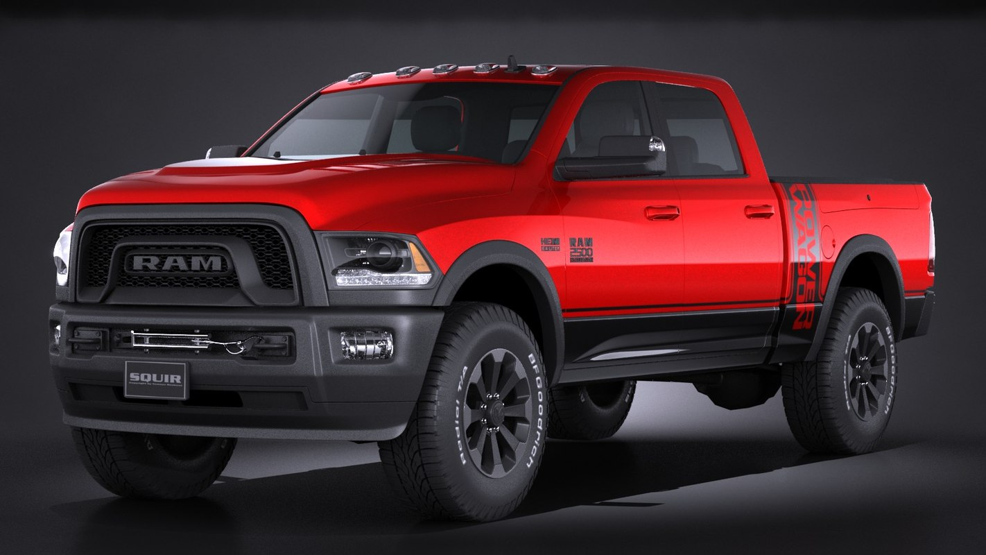 2017 Dodge Ram 2500 >> dodge ram 2500 3d model
