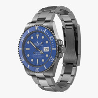 Rolex Submariner Date 2 Blue Dial