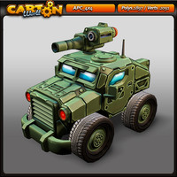 max cartoon apc 4x4