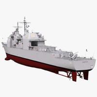3d ticonderoga class cruiser cowpens model