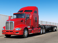 Kenworth T660 Flatbed