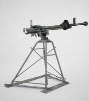 machine gun 3d x