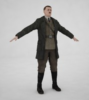 3d model adolf hitler