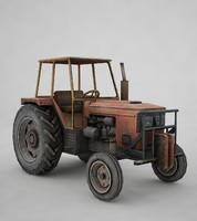 tractor tr 3d max
