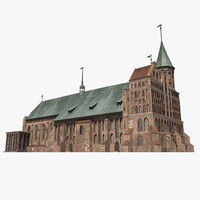 cathedral kenigsberg 3d max