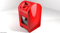 mailbox mail 3d 3ds