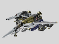 vf skull macross armor 3d 3ds