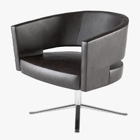 3d lounge chair turner montis model