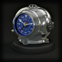 clock eichholtz diving helmet 3d model