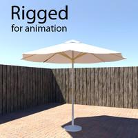 rigged parasol max