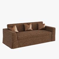3d model sofa promemoria