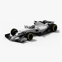 formula 1 future concept 3d max