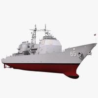 3d ticonderoga class cruiser chosin