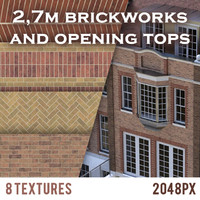 Brickwork textures