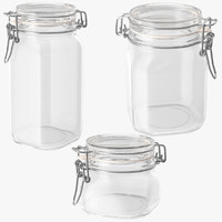glass hinged kitchen jars max