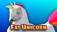 unicorn fat 3d x