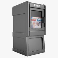 newspaper box max