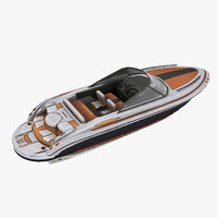 3d model motorboat speedboat games