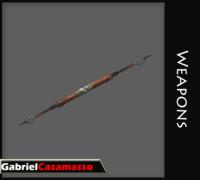 spear blades 3d blend