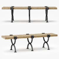 3d model barry arteriors atlas bench