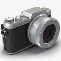 3d model of panasonic lumix dmc-gf7