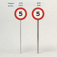 speed limit-5 3d 3ds