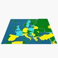 europe 3d max