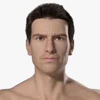 male mark 3d model