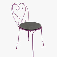fermob 1900 chair 3d max