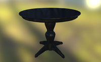 table antique fbx
