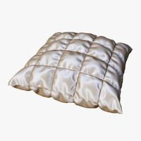 decorative pillow 3d model