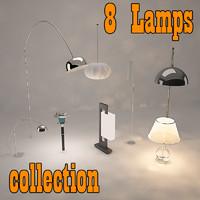 3d lamps -
