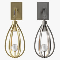 3d model windsor arteriors athena sconce