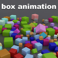 max box animaton simulation