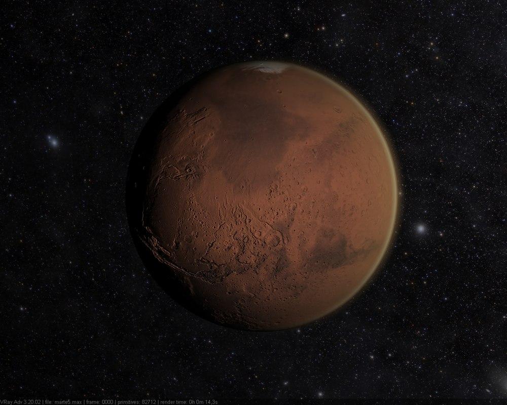 model of planet mars - photo #7