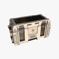 sci-fi toolbox 3d model
