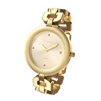 golden wristwatch 3d model