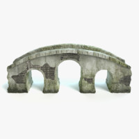 max old arched stone bridge
