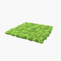 3ds grass trimmed ready