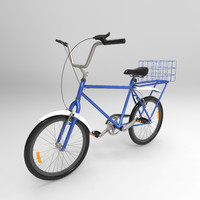 3d urban bicycle model