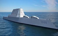 USS Zumwalt 3D Ver.1