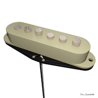 Guitar pickup single neck