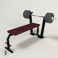 bench press 3d 3ds