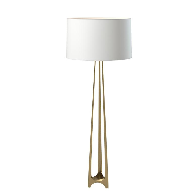 Baker Iron Eye Floor Lamp Jean Louis Deniot JD201 modern contemporary torshiere light designer 121.jpg