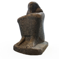 statue egyptian 3d max