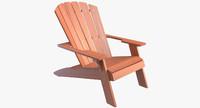 lifetime adirondack chair 3d max