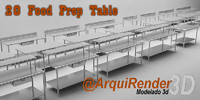 3d gallery tables work model