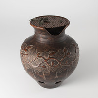 3d ceramic flowerpot pot